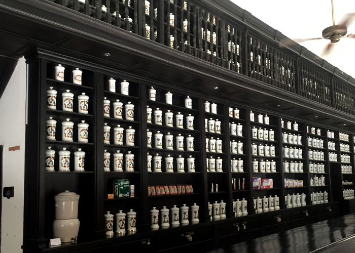The museum and pharmacy, Drogaria Johnson