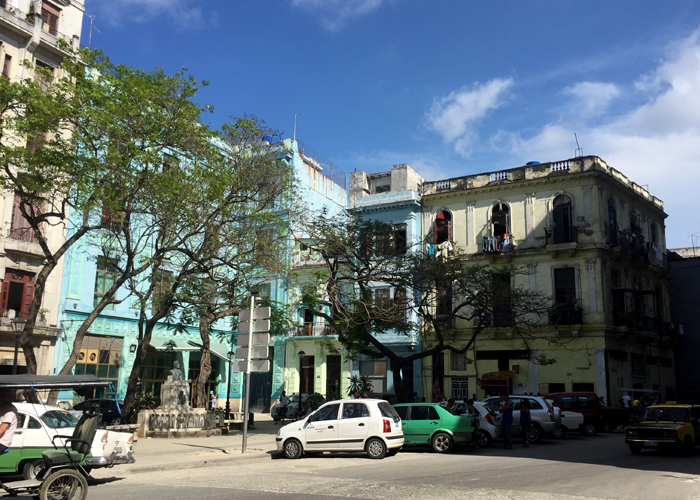 The outskirts of Old Havana