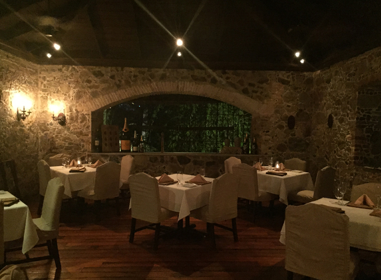 The main dining room, Old Stone Farmhouse