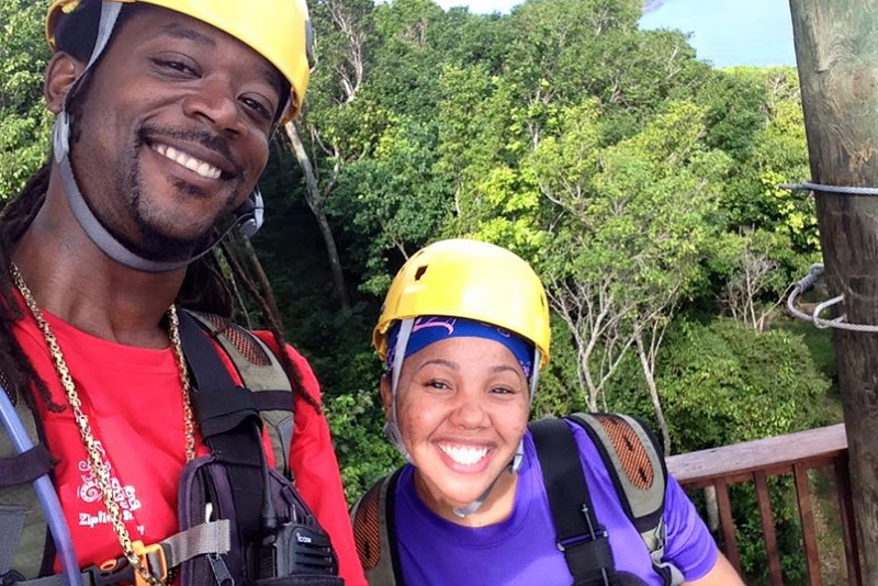 Zip-lining & Sightseeing with David and the Tree Limin' Crew (suggested activity)