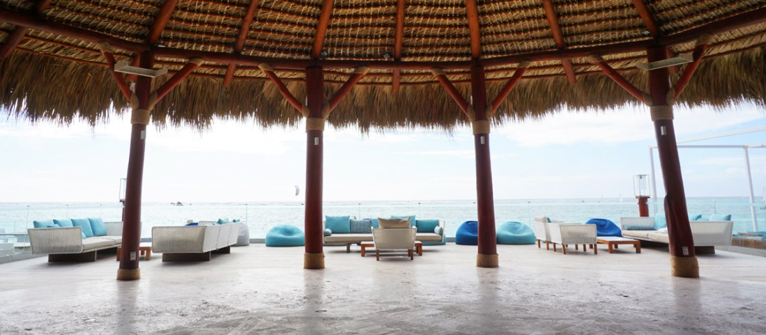 The view inside the Indigo Beach Lounge
