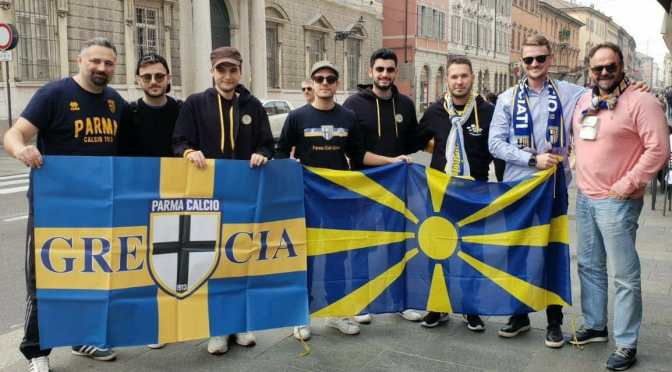 Supporting Parma together