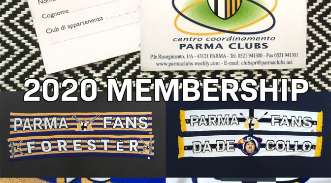 2020 Membership: support Parma Network