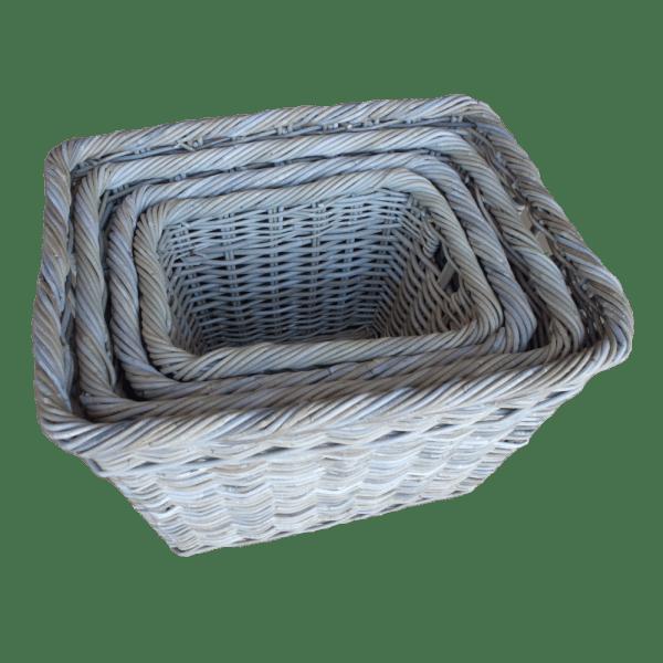 Set of 4 Log Baskets KG61353-4