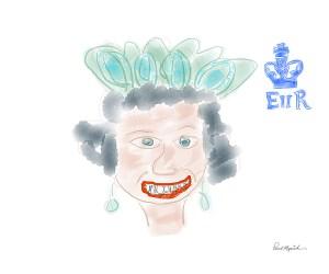 Queen Elizabeth II, Her Royal Highness Poster