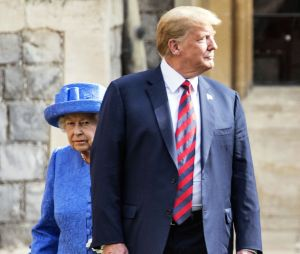 trump hiding queen It's alright now