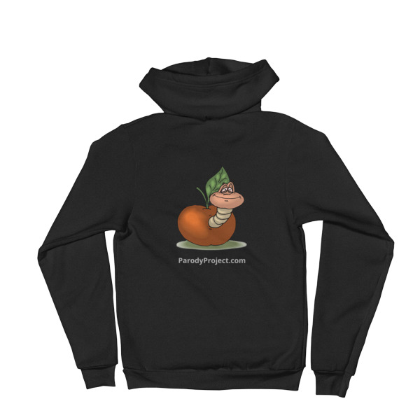 Hoodie Sweater | Parody Project Logo on Back | Made in USA