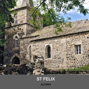 Eglise d'Alcorn, Paroisse de Laguiole