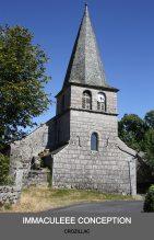 Eglise de Crozillac - paroisse Laguiole