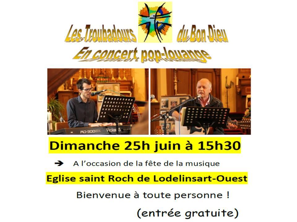 affiche concert 25 juin