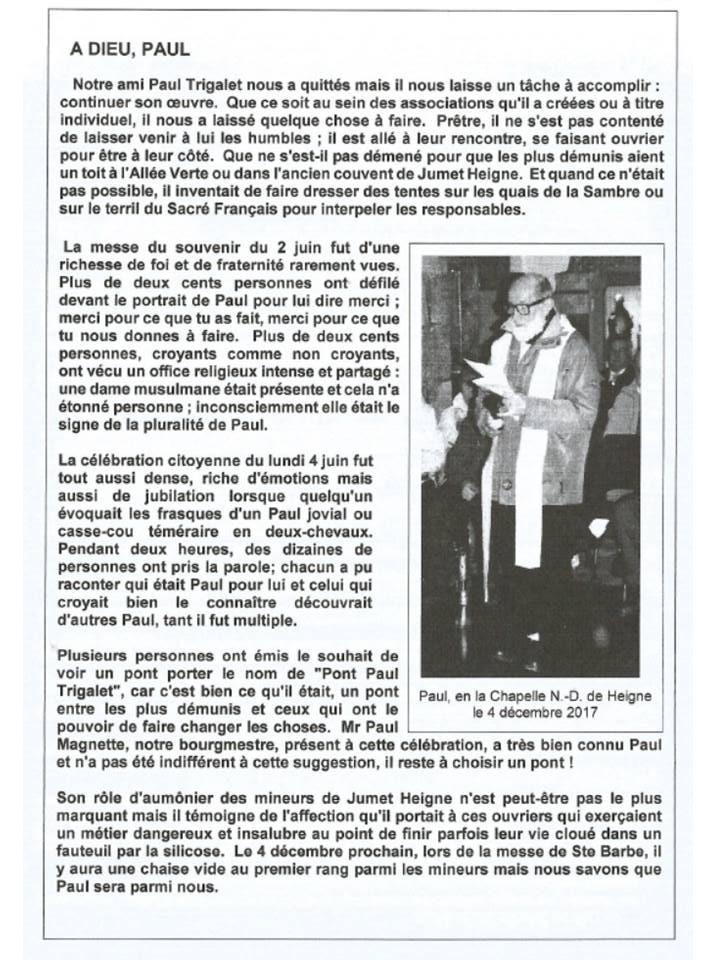 article paul trigalet