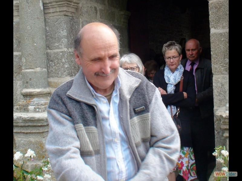 Le pardon de Lokmaria 2017 sortie de la messe
