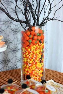 Halloween centro tavola