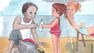 Benedetta passait les vacances au bord de la mer en famille.Ils avaient trouvé une belle place sur la plage et beaucoupjoué toute la journée. Ils s'étaient souvent baignés et toutallait […]