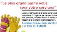 """""""Le plus grand parmi vous sera votre serviteur"""" Matthieu 23,11 2017 PDV Novembre-fr Articles similaires"""
