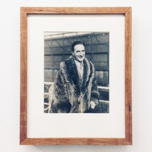 Image from the exhibition «Remise am Jungfernstieg» about Marcel Duchamp at Salon 8 in Hamburg