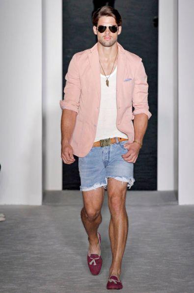 Le Bermuda, Tendance mode pour homme