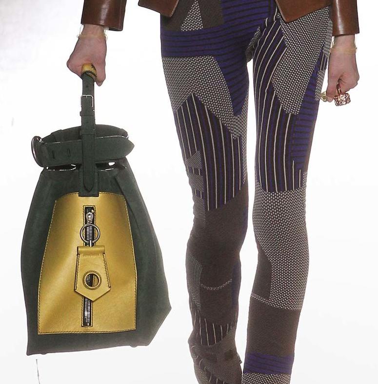 Tendance sacs à main de l'automne hiver 2015-16/ Le sac à main de couleur vert sapin