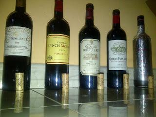 ***Prima parte*** Grande serata Bordeaux: Rive Droite VS Rive Gauche.
