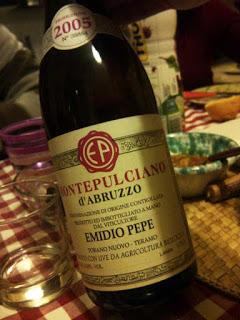 Il sommelier consiglia: Montepulciano d'Abruzzo 2005, Emidio Pepe
