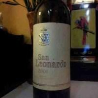 Degustazione: San Leonardo 2001, Tenuta San Leonardo