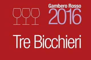 Tre Bicchieri Campania Gambero Rosso 2016
