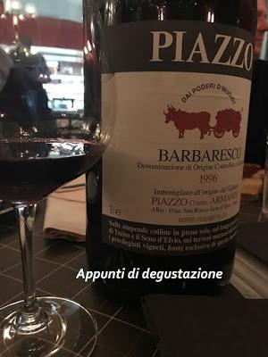 Barbaresco Piazzo 1996 Jéroboam. Venghino, signori venghino.