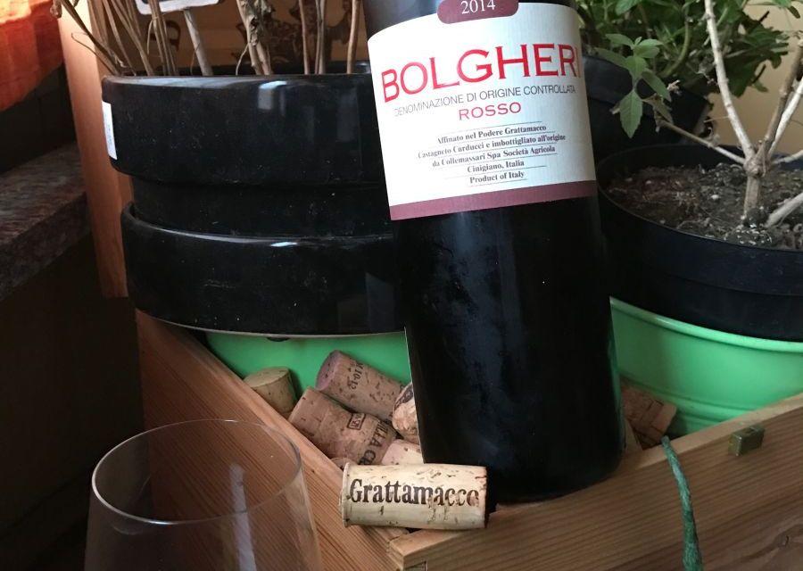 Bolgheri Grattamacco Collemassari. Un gratta & vinci vincente