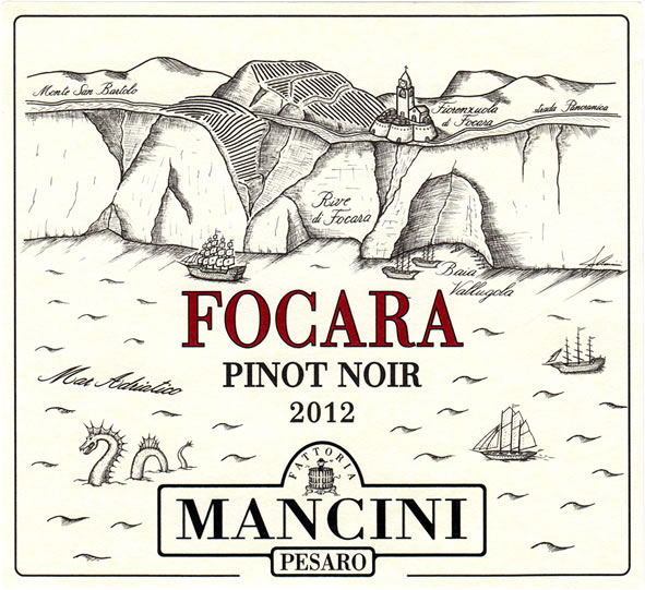 Focara Mancini. L'altro Pinot nero.