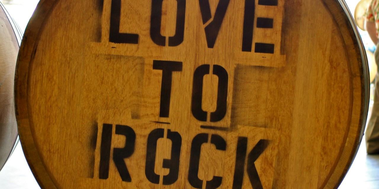 Vino e rock: matrimonio perfetto