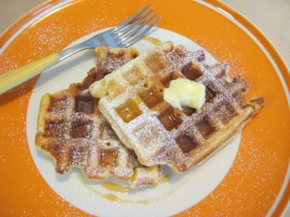 waffles al latticello