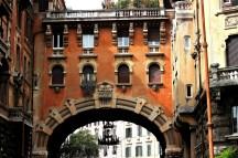 Coppedè, Arco visto da Piazza Mincio