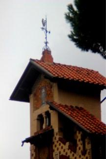 Villa delle fate, torretta, quartiere Copped