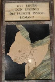 Tomba di Don Eugenio Ruspoli, corno d'Africa