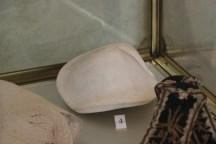 calco in gesso del seno di Paolina, museo napoleonico