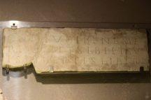 iscrizione funebre, città dell'acqua