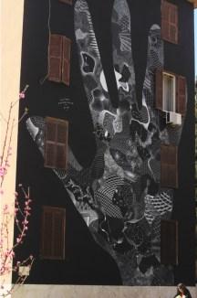 Costellazioni umane, street art Tor Marancia