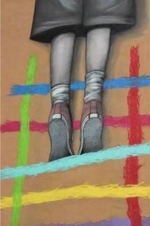 il bambino redentore, Tor Marancia street art big city life