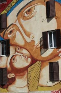 Nostra Signora di Shangai, street art Tor Marancia, big city life