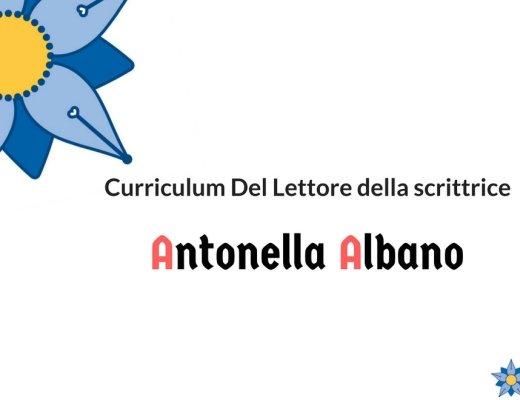Curriculum Del Lettore di Antonella Albano e il Dracula di Bram Stoker