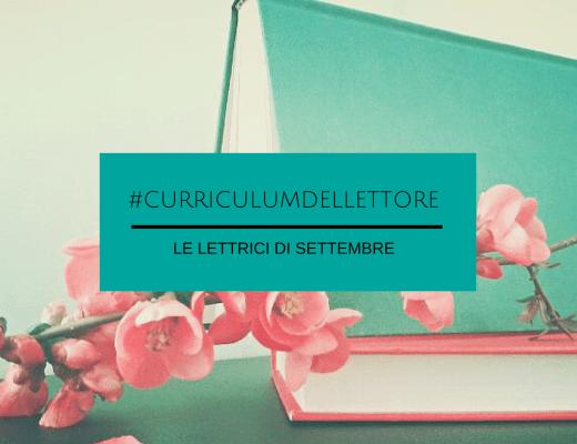 #CurriculumDelLettore: un settembre tutto al femminile