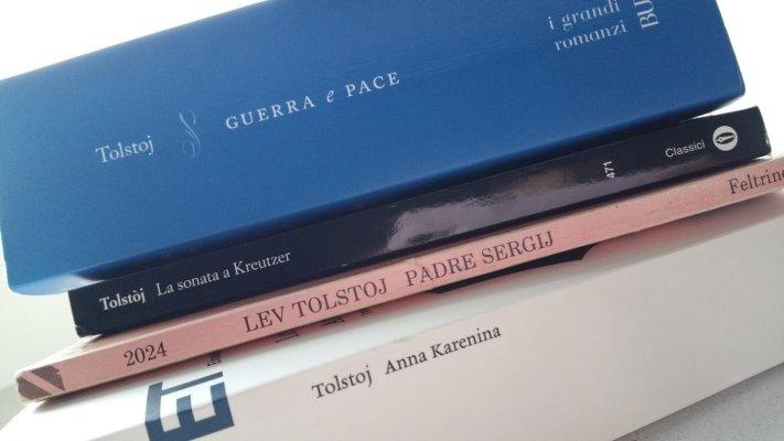 Alcuni libri di Lev Tolstoj