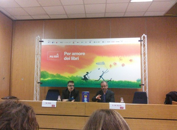 Più libri più liberi, presentazione M. Fois e D. De Silva