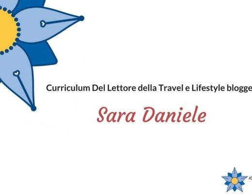 Curriculum del lettore di Sara Daniele: blogger di Emotionally