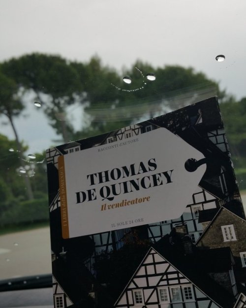 Il vendicatore di Thomas De Quincey