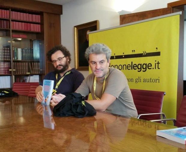 Pordenone Legge 2016: Pierdomenico Baccalario e Alessandro Gatti