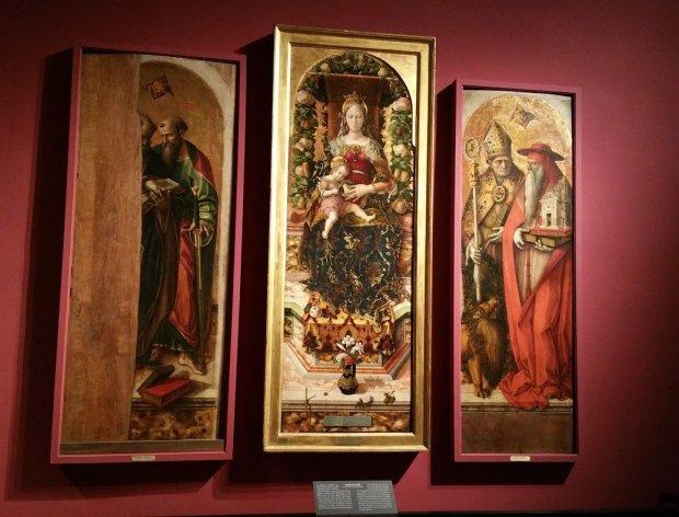 Pinacoteca di Brera, Carlo Crivelli