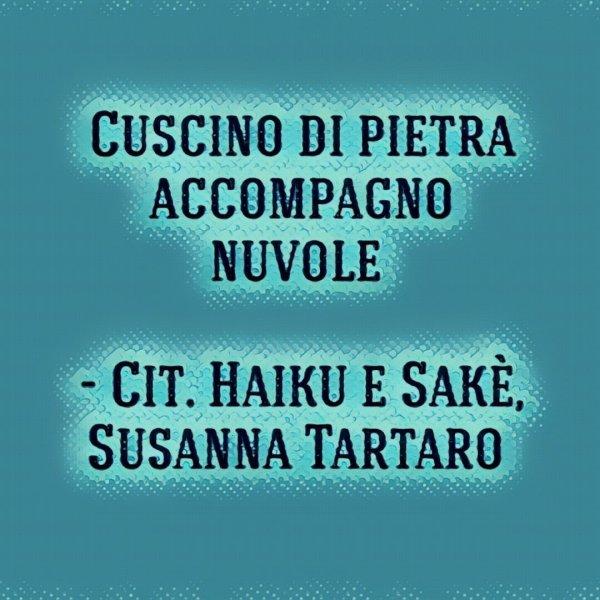 Haiku di Santoka, tratto dal libro di Susanna Tartaro