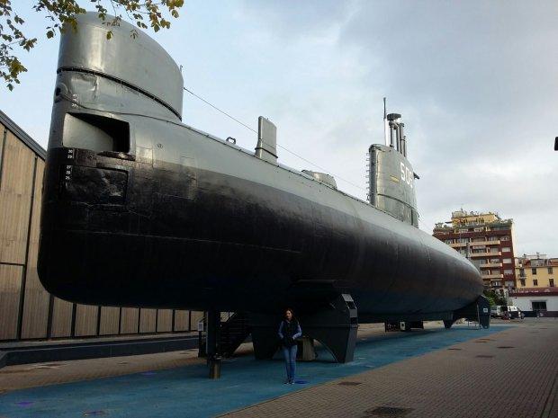 Museo della Scienza e Tecnologia, sottomarino