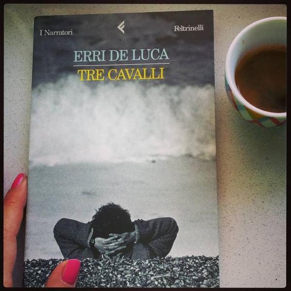 Tre cavalli di Erri De Luca, edito Feltrinelli